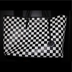 Michael Kors black/white checkered bag